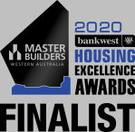2020 Master Builders Bankwest Housing excellence Awards Finalist
